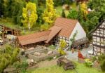 Faller 232371 Agricultural Building with Accessories Kit I